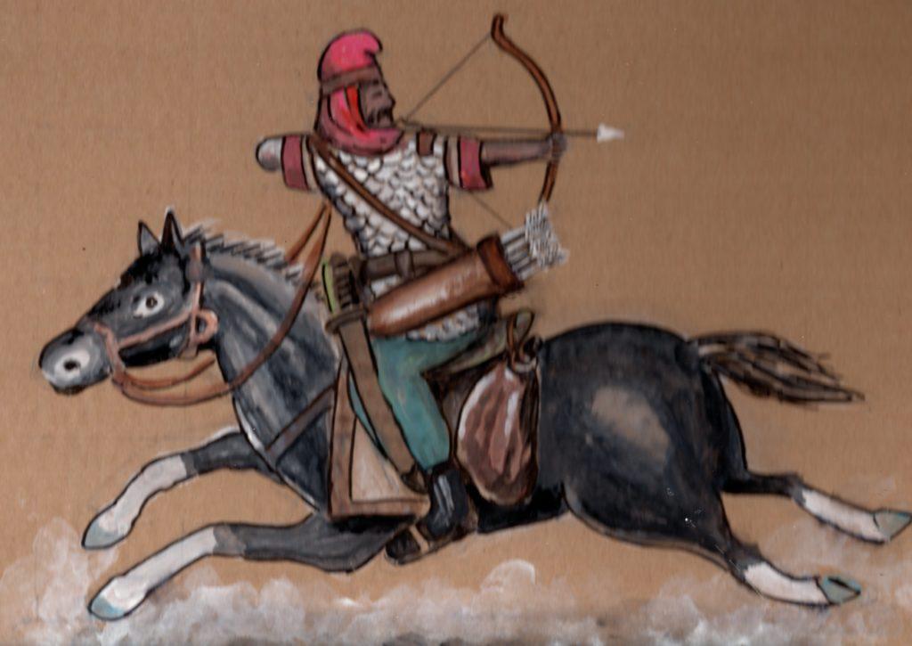 Cavalier Parthes sur son cheval par Chanh Ngo