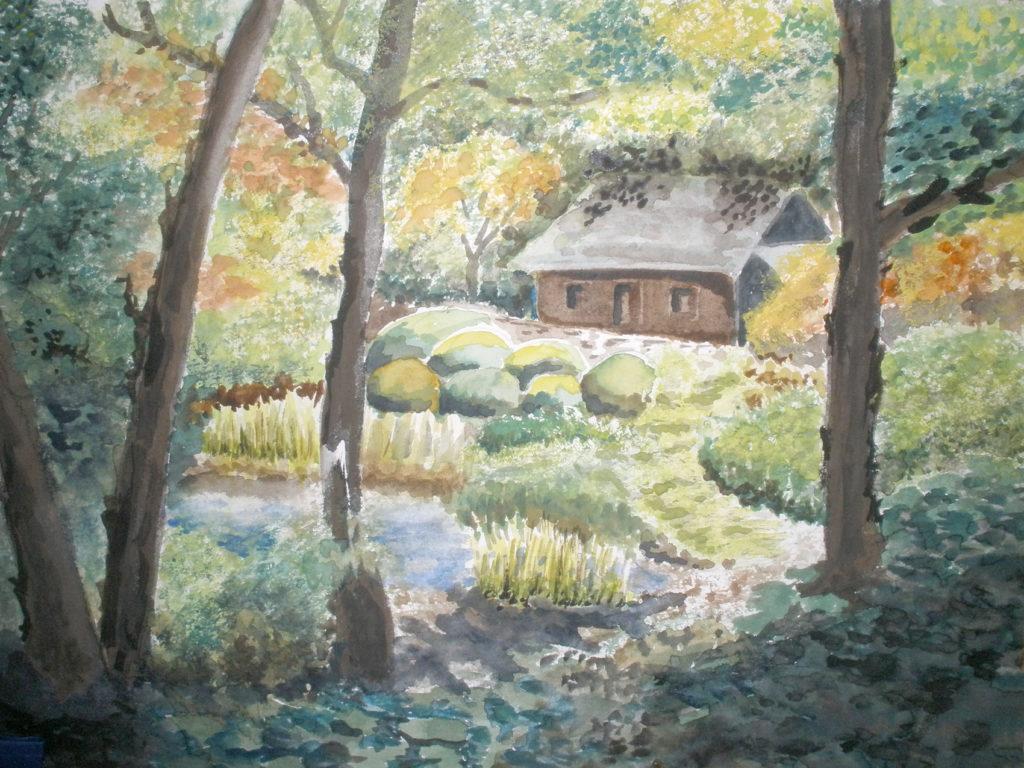 Maison dans la forêt par Chanh