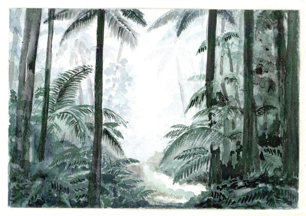 Paysage dessiné par Chanh